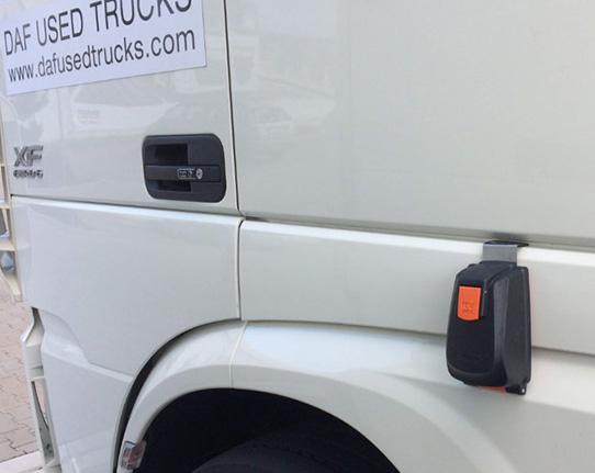 Car dealer key box for window. KVBOX. Truck